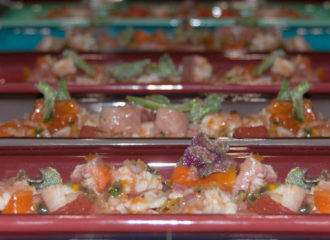 ensalada anguila ahumada