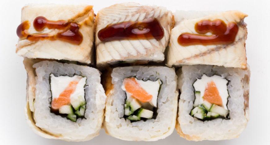 sushi anguila