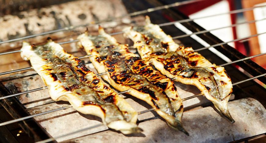 Anguila al estilo Shirayaki